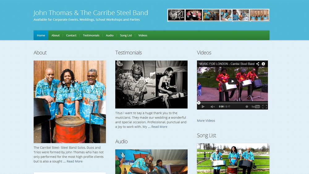 Carribe Steel Band