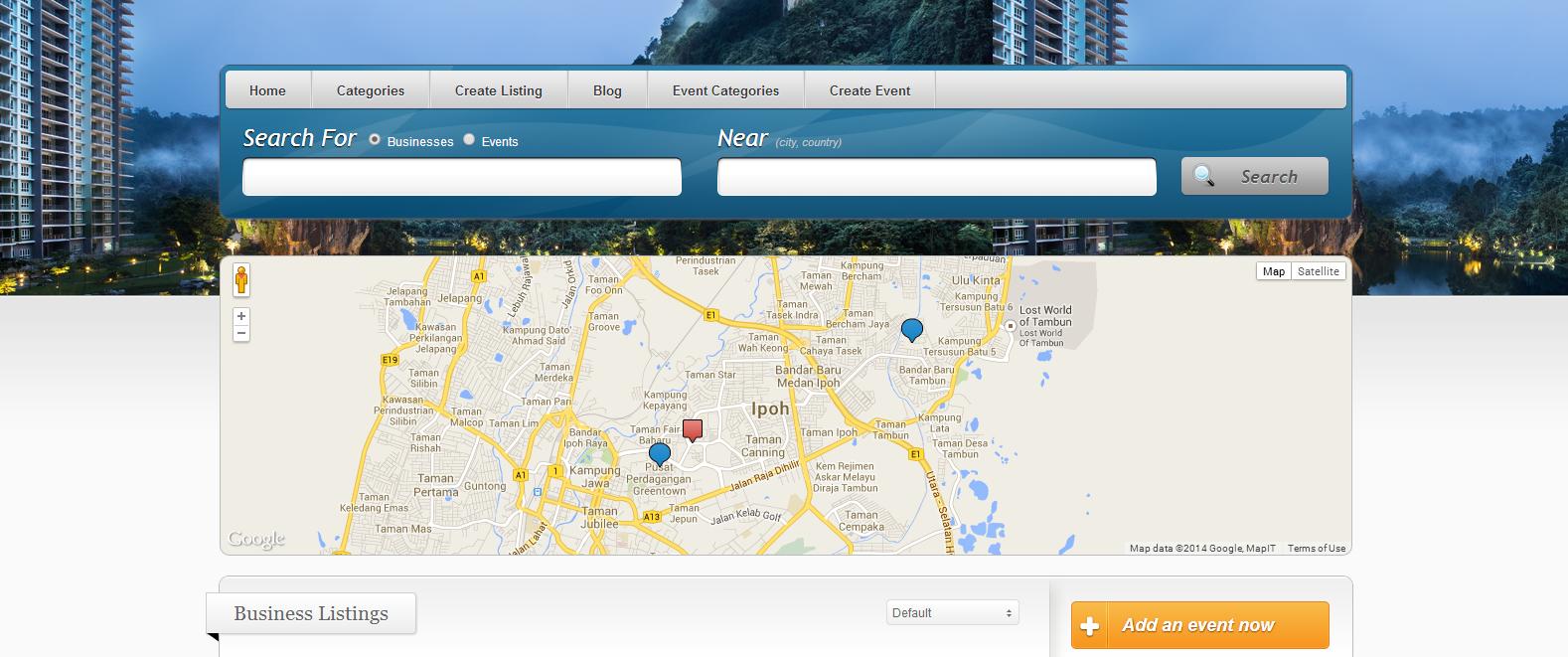 Visit Perak Directory